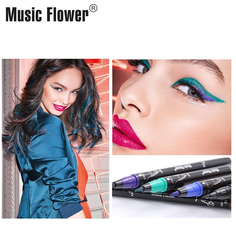 Music Flower Multiple Scope Сұйық Көз Қаламы Pen Super - Макияж - фото 5
