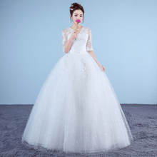 Vestidos de Novia Fansmile, Envío Gratis, nuevo vestido de Novia Vintage de tul 2020, vestido de baile, Boda de Princesa, vestido de Novia, FSM-627F