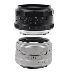 Kaxinda 35mm F1.6 Standard Manual Prime Lens direct for Canon Sony Fujifilm Olympus Panasonic Mirrorless Camera f/1.6