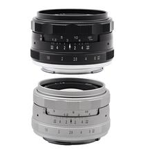 Kaxinda 35mm f/1.6 Standard Manual Prime Lens for Canon Sony Fujifilm Olympus Panasonic Mirrorless Camera