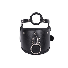Leather Posture Collar Heigh Neck Collars With Ring Gag Slave Restraints Bdsm Bondage Fetish Adult Games Sex Toys For Couples metal bdsm women neck croset bdsm collar bondage restraints sex adult games collars slave fetish toys for woman o ring collar