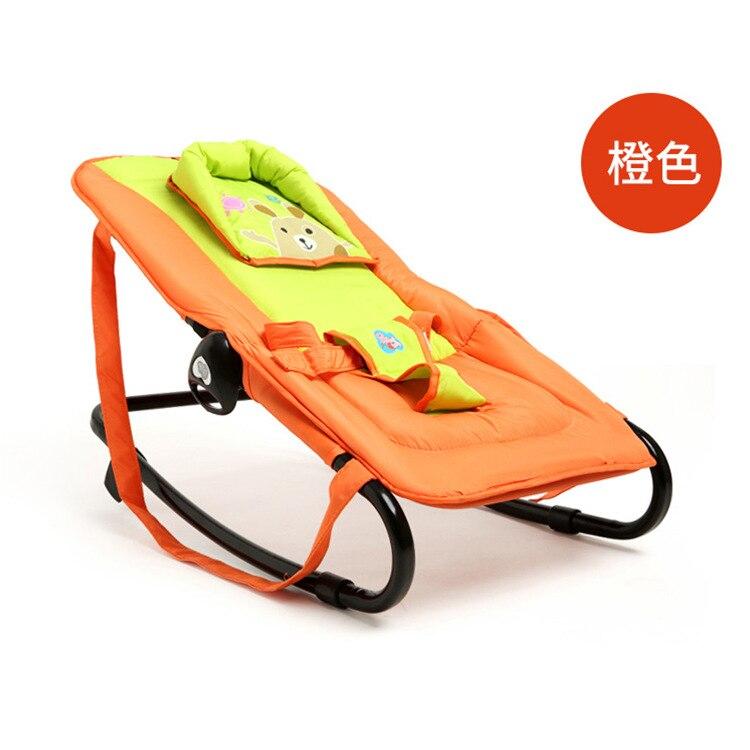 Fauteuil à bascule bébé fauteuil inclinable chaise apaisante bébé berceau musique vibrant bébé magique portable pliant - 3