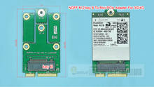 NGFF M.2 klucz B do Mini PCIe Mini PCI-E Adapter do 3G 4G moduł M2 do mini pcie do ME906E MU736 EM7345 ME936 EM7455(China)
