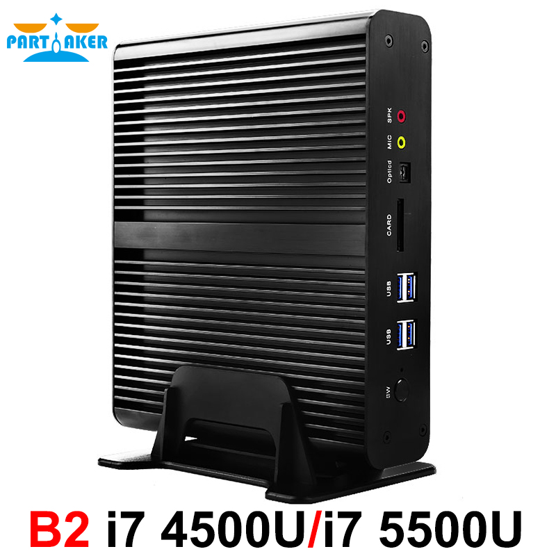 Ventanas mini pc i7 5550u i74500u broadwell intel nuc barebone htpc sin ventilad