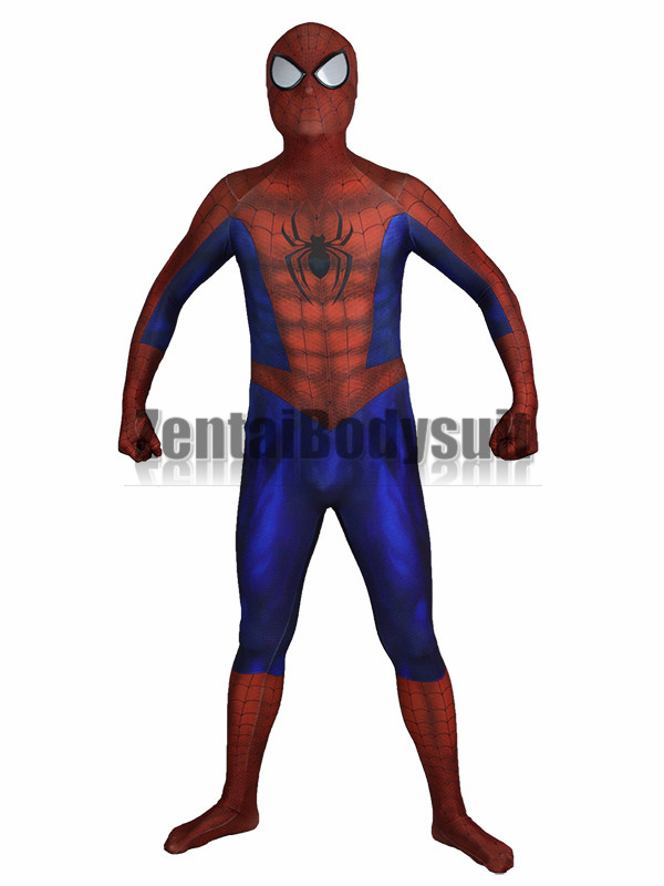 spiderman costume 3D Printing spider man costumes cosplay spandex zentai suit Halloween Party Costume
