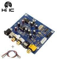 Decodificador de entrada Coaxial óptica ES9038Q2M ES9038 Q2M I2S DSD, salida de auriculares DAC, placa de amplificador de Audio HiFi
