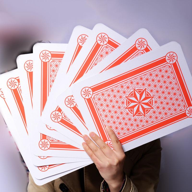 1Deck 3 Size Giant Jumbo Deck Of Big Playing Cards Fun Full Poker Game Set