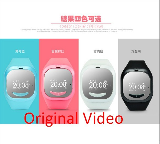 2017 Mais Novo Garoto Bonito Do Bluetooth Inteligente Relógio De Pulso GPS P5 Local Remoto Rastreador Monitor Anti Perdido Criança Relógio de Pulso Presentes