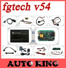 Mejor!!! 2016 Profesional Viruta del ECU Tunning V54 FG Tech Galletto FGTech Galletto 4 Master V54 BDM-TRICORE-OBD Función