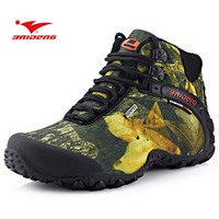 Wearproof Trekking Boots Casual Anti Skid High Quality Cool Mens Outdoor Climbing Breathable Shoes New Fashion