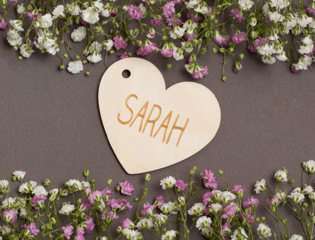 Us 8 09 10 Off Personalized Laser Cut Wedding Wooden Heart Name Place Cards Party Supplies Name Cards Elegant Food Tents Table Cards In Party Diy