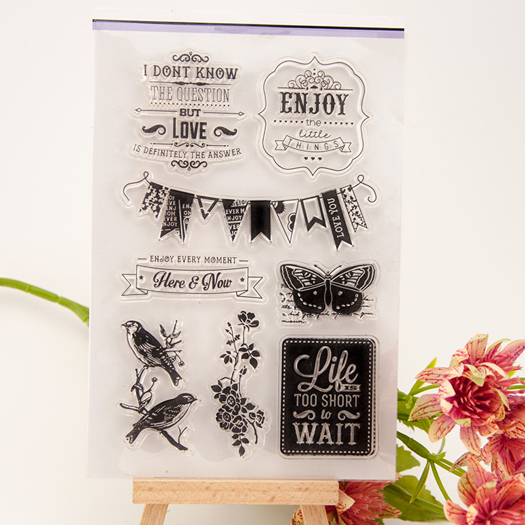 scrapbook DIY believe design 11*16CM ACRYLIC VINTAGE clear STAMPS FOR PHOTO timbri SCRAPBOOKING stamp free shipping блуза michael michael kors michael michael kors mi048ewugz57