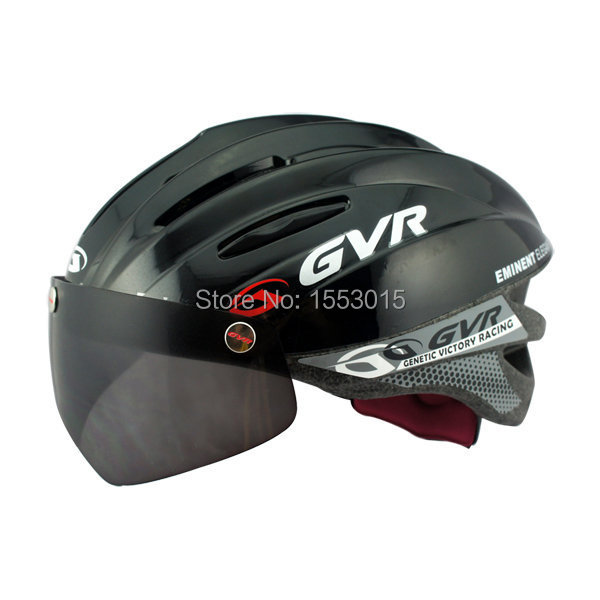 G-203V cycling bike mtb helmet casco capacete bicicleta ciclismo bicycle accessories Magnetic UV suction visor universal bike bicycle motorcycle helmet mount accessories