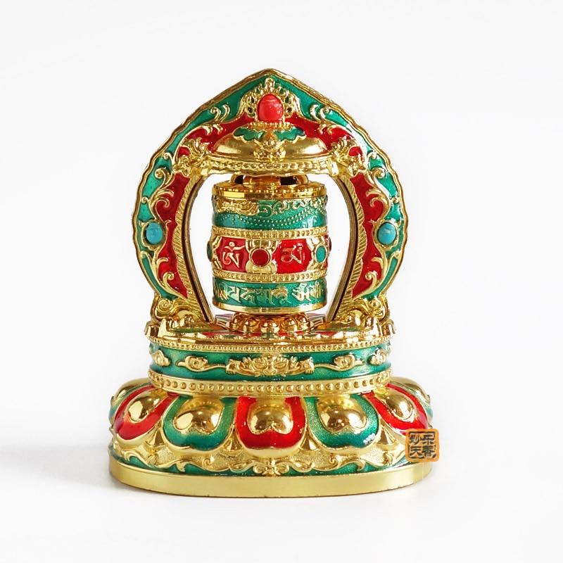 Tibetan Solar Prayer Wheel ,Car Decorative, Quality Buddhist Prayer scriptures Ornamen,Get The Blessing When RotatedTibetan Solar Prayer Wheel ,Car Decorative, Quality Buddhist Prayer scriptures Ornamen,Get The Blessing When Rotated