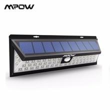 Mpow CD020 54 светодио дный ночник IP65 Водонепроницаемый солнечного света Широкий формат светодио дный солнечной энергии лампы Открытый для сада стены Двор патио