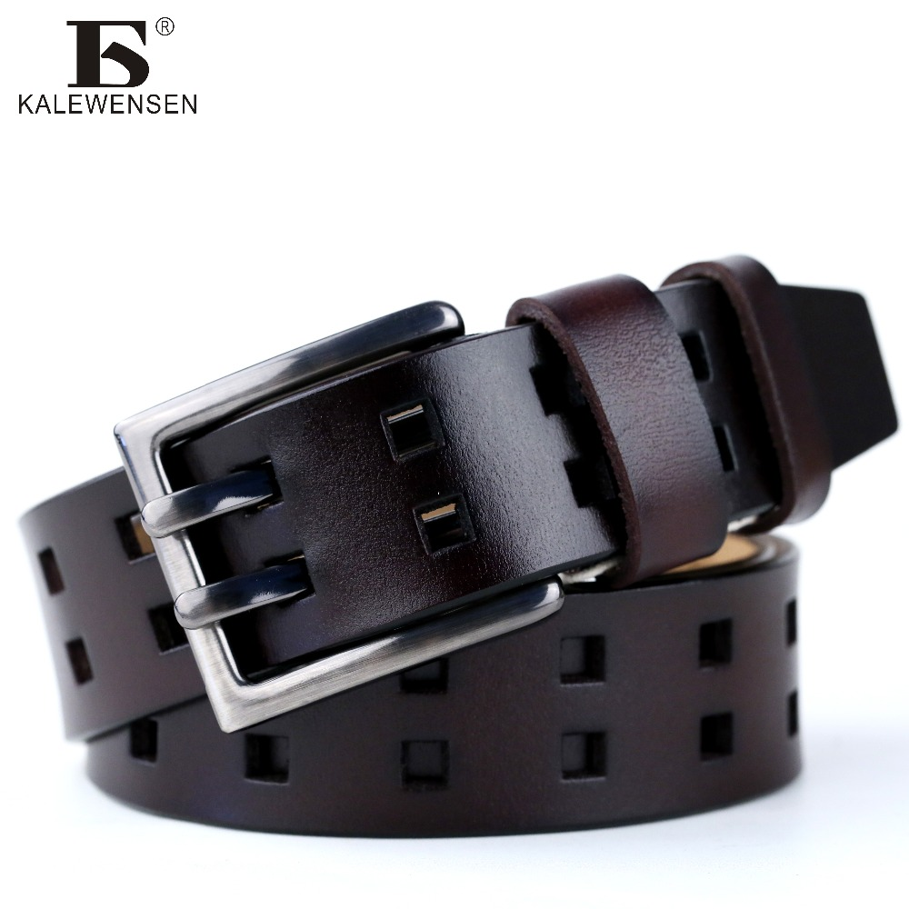 2017 New Business Belt double pin buckle