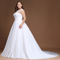 Plus Size Sexy Backless Stain Mermaid Wedding Dress 2018 Elegant Sweetheart Appliques Bridal Ball Gown Vestido de Noiva 2