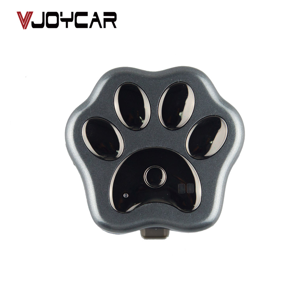 VJOYCAR V40 3G WCDMA MiNi Pet GSM GPS Tracker Locator Collar For Dog Cat Long Standby Geo-Fence LBS Free APP Platform Tracking reachfar rf v40 wi fi gps pet tracker blue