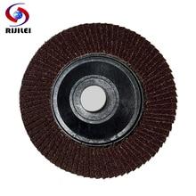 (BY008)  25 Pieces/Lot Wholesale 5 / 125mm flap disc, flower shape wheels, Flap Disc Grinding ,Louver pad
