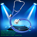 Multifunctional Professional Medical Stethoscope Audible Fetal Heart Aound To Send A Full Set Of Accessories Package