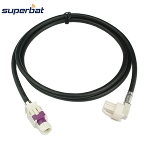 Image 1 - Superbat Vehicle/Car HSD Cable Dacar 535 Assembly B Code Connector Straight Jack to A Code Right Angle Female for Benz BMW