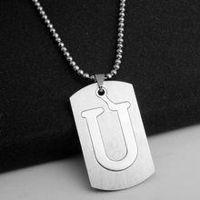 Ожерелье из нержавеющей стали 316l для женщин и мужчин ювелирные