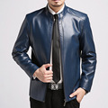Men's Leather Jacket 2017 Comfortable Spring New Men's Fashion Design Trend Russian Leather Jacket Contracted And Leisure