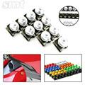 6MM Motorcycle Accessories Fairing body Bolts Screws  for MT07 09 YZF R1 R6 R3 R25Tmax 500 530 Hyosung GT250R GT650R Z800 KTM