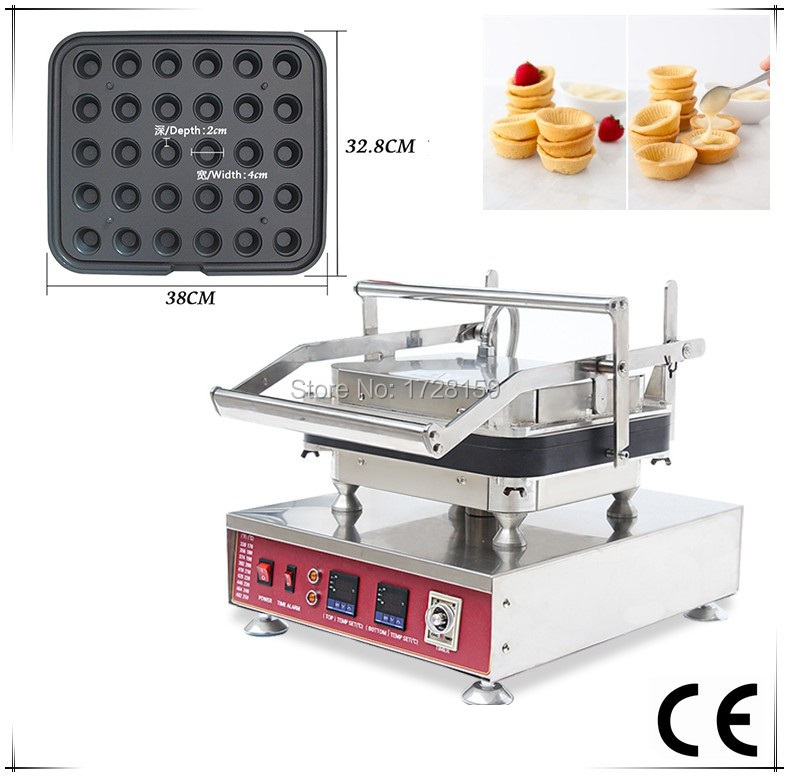 Innovative table top tartlet baking machine for baking individual Matic tart shell new hot sale tartlet bakon machine price bakon tartlet machine for sale