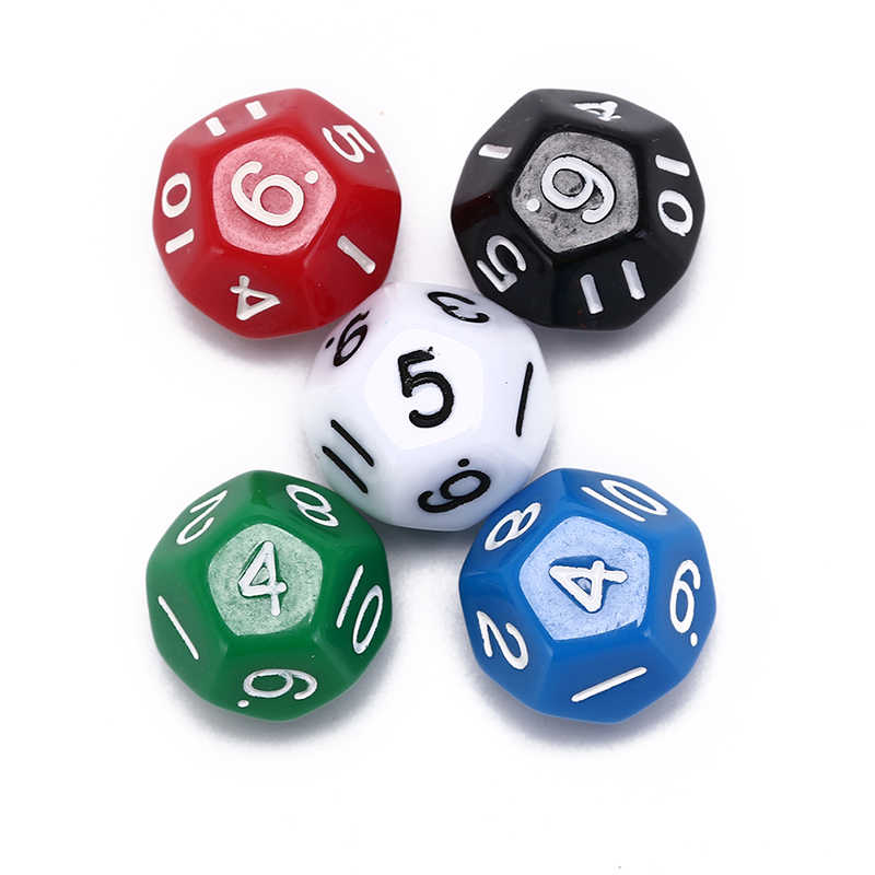 12 sided dice 12 face dice dnd game D12 dice Bar Party Accessories Gambling Tool