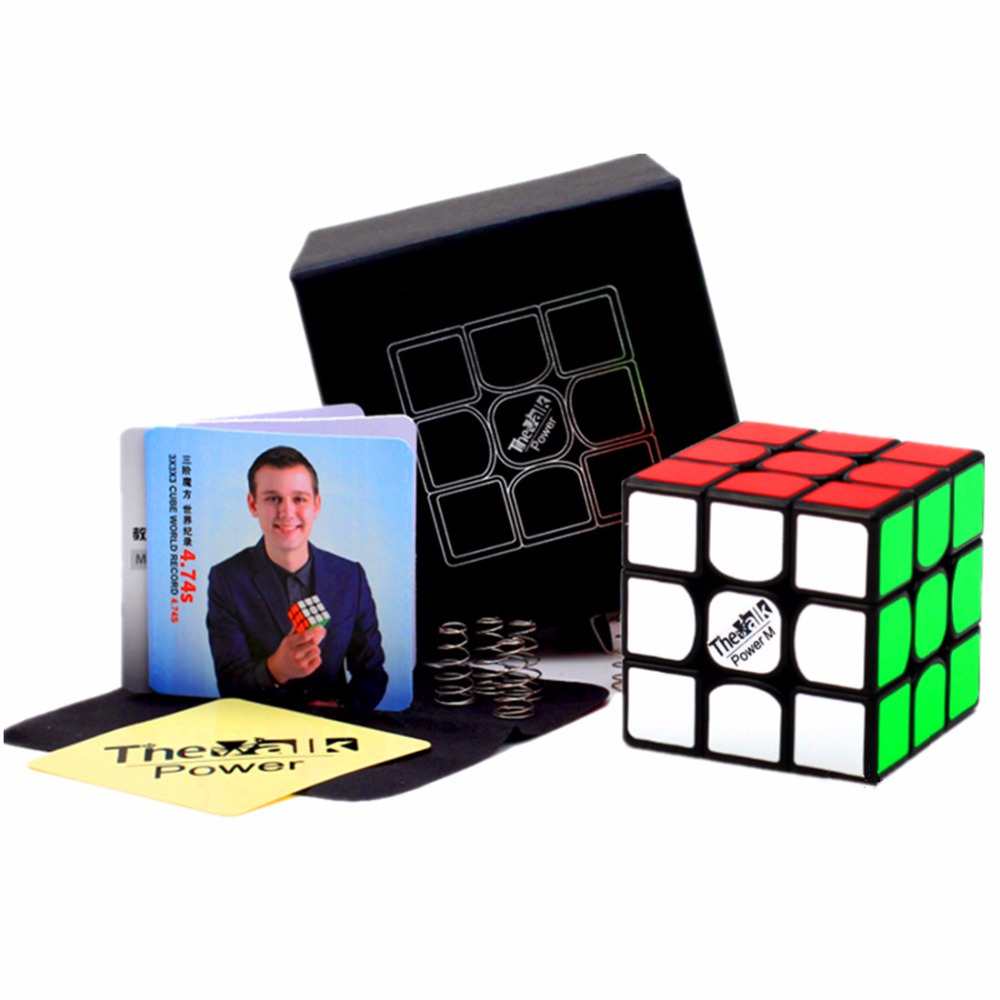 Qiyi 3x3x3 Cube Valk3 Power M Magnetic 3x3x3 Magic Cube The Valk 3 Power M 3x3 Magnetic Speed Cube Valk 3 M 3x3 Puzzle Cube 3x3