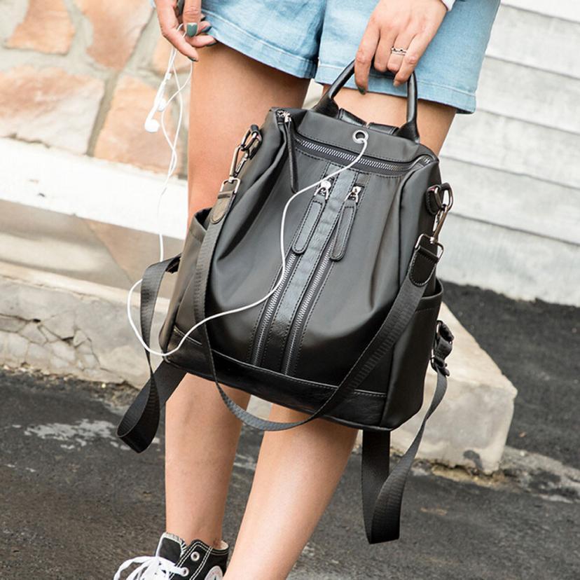 2018 High Quality Small Women Backpacks Zipper Student Backpack Fashion Bag Girls Sac A Dos Mochilas Mujer Dropshipping