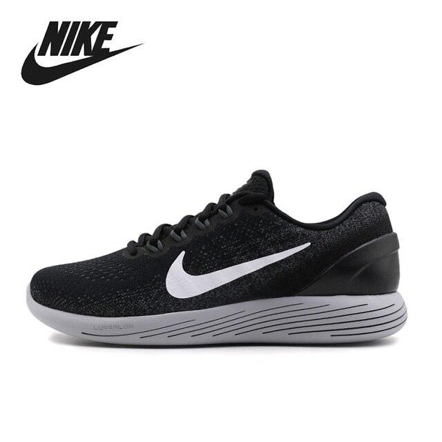 new styles a3cf1 34bb2 Nike 2017 LUNARGLIDE 9 La Luna hombre ventilación absorción de choque  correr zapatos para hombres
