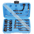 13pcs Transmission Oil Refill Filling Adaptor Set CVT Transmission Service Adaptor Kit