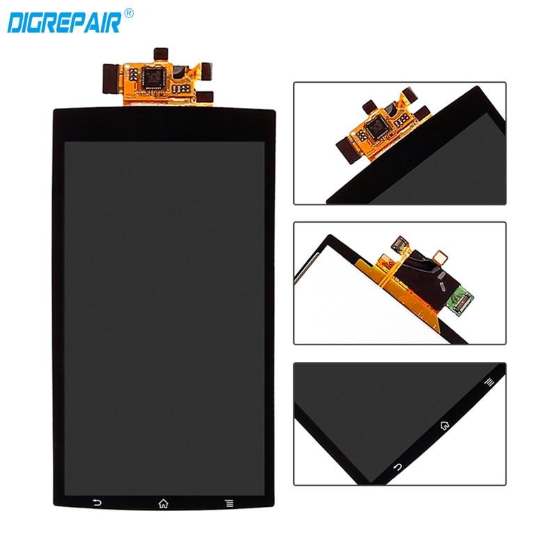 Para Sony Ericsson Xperia Arc S LT18i LT15i X12 Smartphone Preto Display LCD Touch Screen Digitador Assembléia Peças de Reposição