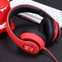 Mengqi Devil Cat Sound Magic Headphones Computer Game Music Headphones Subwoofer with Microphone