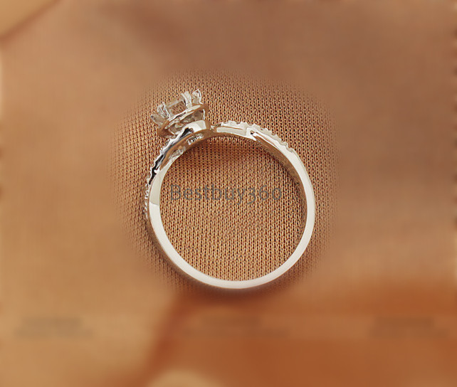 0.42ct 925 Серебро S925 кольцо Sona Mariage Nupcial De Люминесцентная Свадебная декорация Casamento BODA Диаманте Anel Aneis Anillo Anneau(JSA