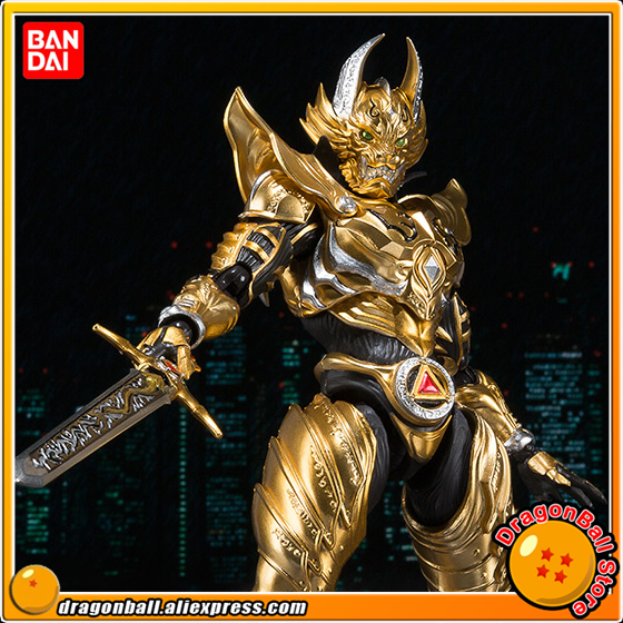 Japan Anime GARO Original BANDAI Tamashii Nation S.H. Figuarts / SHF Exclusive Action Figure - Garo Ryuga KONJIKI Ver. 100% original bandai tamashii nations s h figuarts shf exclusive action figure garo leon kokuin ver from garo
