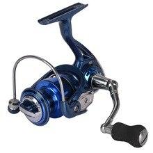 купить Yumoshi 2000-5000 13BB 5.5:1 Feeder Fishing Reel Metal Spinning Reels Carp Fishing Reels Carretilha de pesca Moulinet по цене 1305.8 рублей