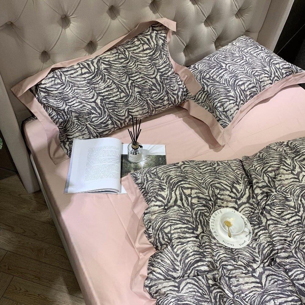 Nuevo juego de cama de algodón egipcio de los años 60 ropa de cama de lujo - 3