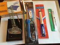 8 piezas nuevas 60 W soldadura eléctrica hierro/ventosa herramientas de uso doméstico