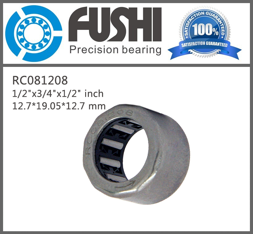 RC081208 ( 4 Pcs) One Way Needle Bearing / Clutch 1/2x3/4x1/2 inch Single Needle Roller Bearings 12.7*19.05*12.7 mm free shipping big roller reinforced one way bearing starter spraq clutch for polaris ranger rzr1000 xp rzr1000xp 2013 2015