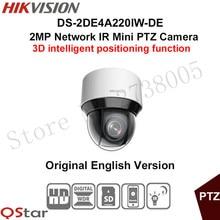 Hikvision 2MP Network IR mini PTZ Camera DS 2DE4A220IW DE 3D intelligent positioning function 20x optical