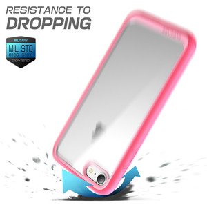 Image 5 - For iPhone SE 2020 Case For iPhone 7 8 Case 4.7 inch SUPCASE UB Style Premium Hybrid Protective TPU Bumper + PC Clear Back Cover