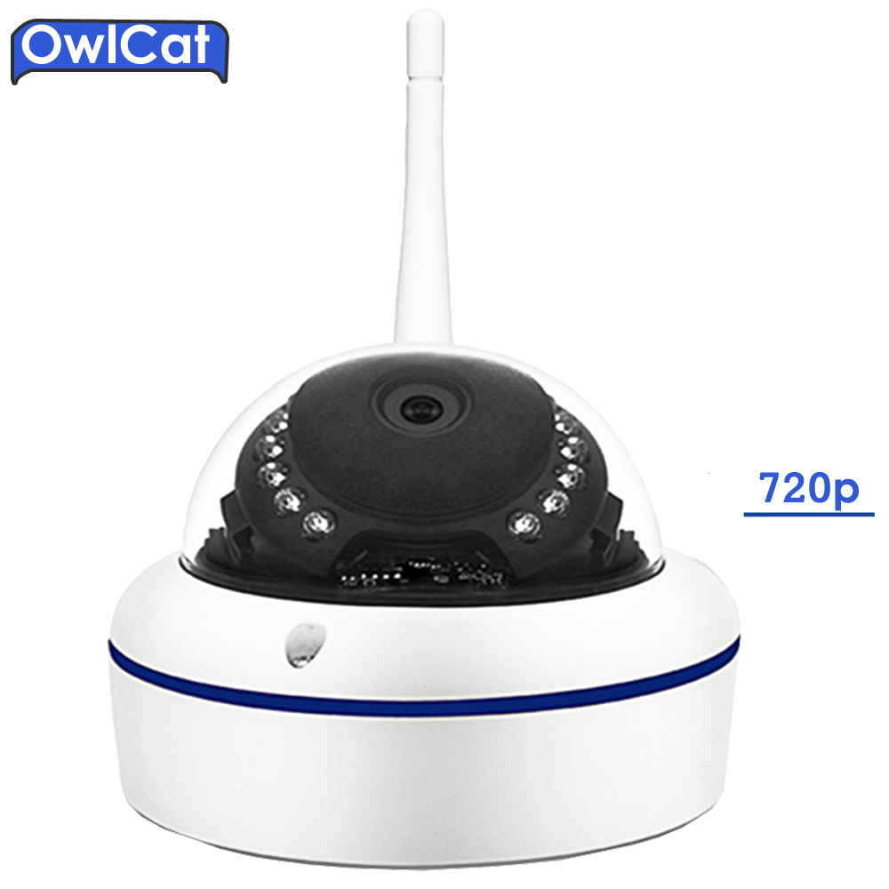 OWLCAT Home Smart Full HD 720P CCTV IP Camera Wireless Smart Dome Video Network IP Security Camera IR CCTV P2P Android IOS xiaomi chuangmi 720p smart camera ir