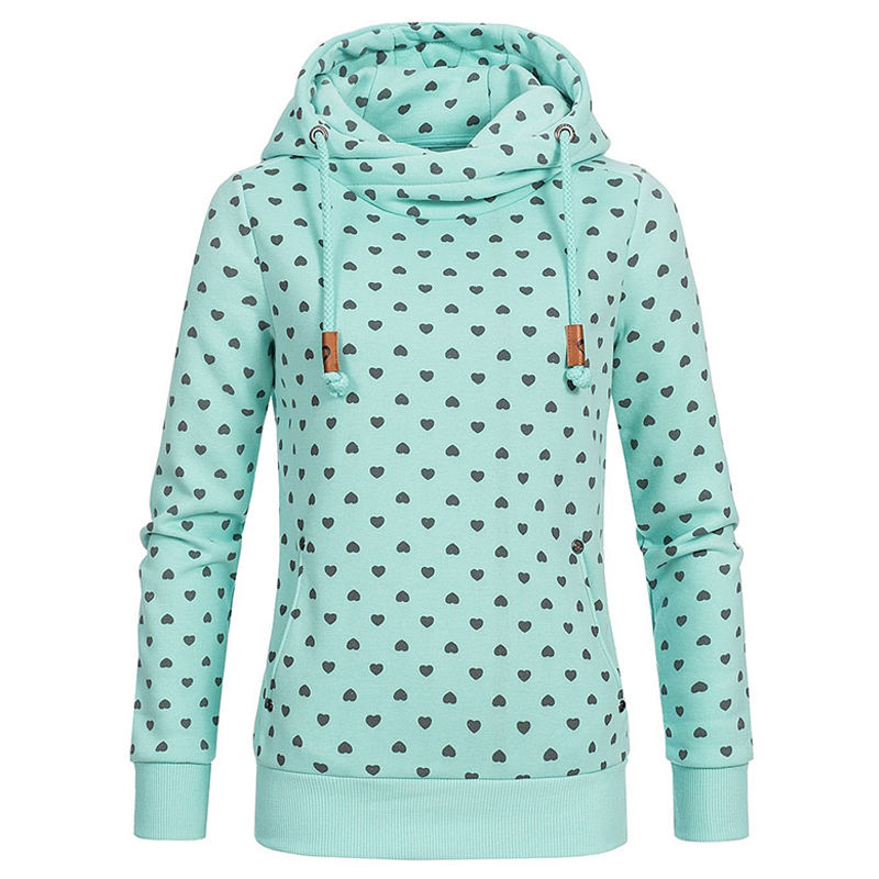 f553c78028a7 Women Hoodies Sweatshirts Pullover Hoodie print Casual Corduroy Female Double  Hood Hooded Sweatshirt Autumn Coat Warm S 5XL-in Hoodies   Sweatshirts from  ...