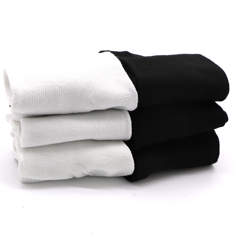 Skritts 3pair 6pcs Summer Women 39 s Socks Short Low Cut Ankle Socks For Women Ladies Female Girls White Black Short Socks 2018 in Socks from Underwear amp Sleepwears