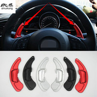 2pcs/lot For Mazda 3 6 Axela Atenza CX 5 CX5 CX 5 CX 5 CX 4 CX4 CX 4 Steering Wheel Shift Paddle Shifter Extension