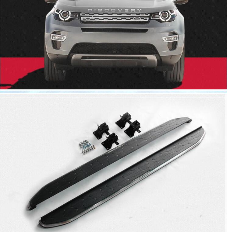 JIOYNG Car Aluminum alloy Running Board Side Step Pedal Nerf Bar For Land Rover Discovery Sport 2015 2016 2017 2018 (OEM style)