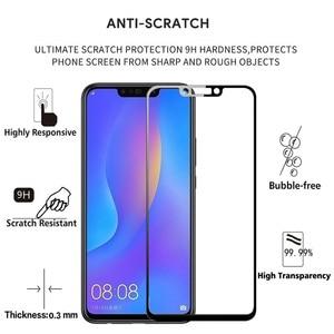 Image 2 - 2 pièces 100% Original couverture complète protecteur décran en verre trempé pour Huawei NOVA 3 3i PAR AL00 LX1 LX1M LX9 TL20 INE LX2 Film de verre